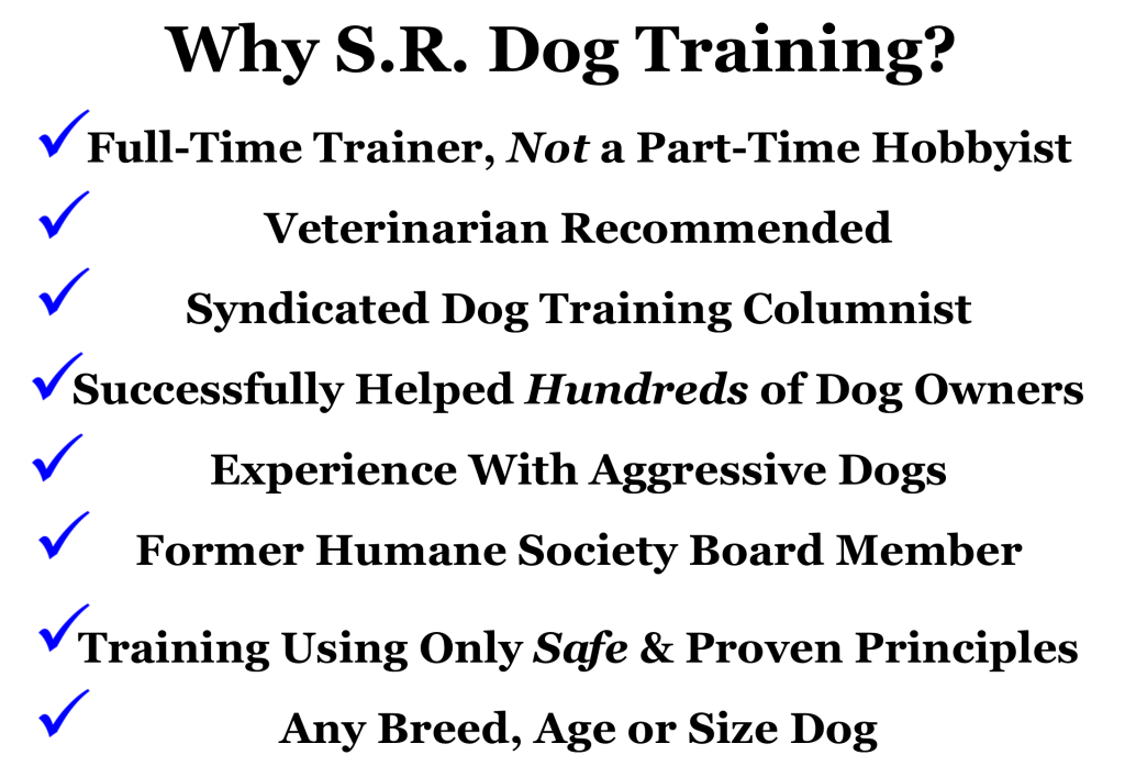 S.R. Dog Training